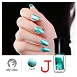 6ml Mirror Nail Art Water-based Peel Off Peelable Polish Nail Lacquer Care By Rambly (j)