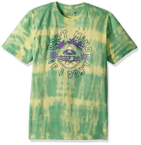 Neff Mens Dont Mind Wash Short Sleeve Tee Shirt  Mint  M