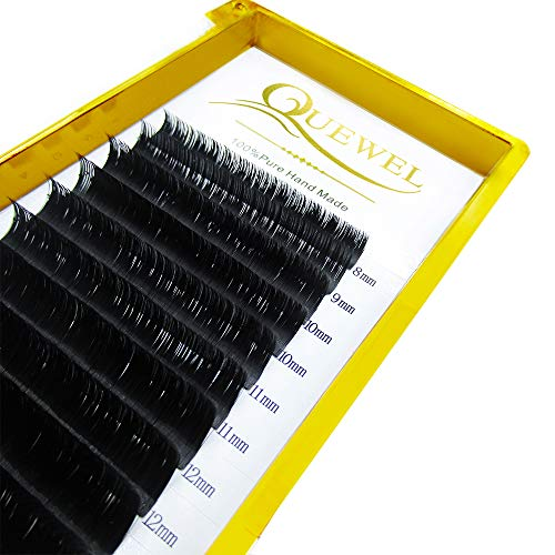 Thickness 0.05mm 0.07mm 0.10mm 0.12mm Russian Volume Premade Fans Eyelashes Extensions 2D 3D 4D 5D 6D 7D 8D 10D 20D C/D Curl Length8-18mm MIX by Quewel