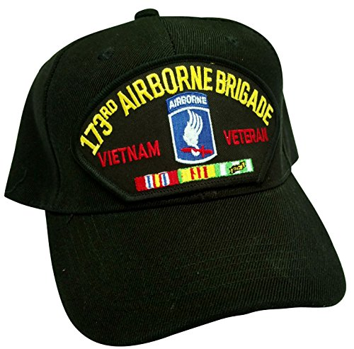 HMC US Army 173rd Airborne Brigade Division Vietnam Veteran w/Service Ribbons Low Profile Adjustable Ball Cap