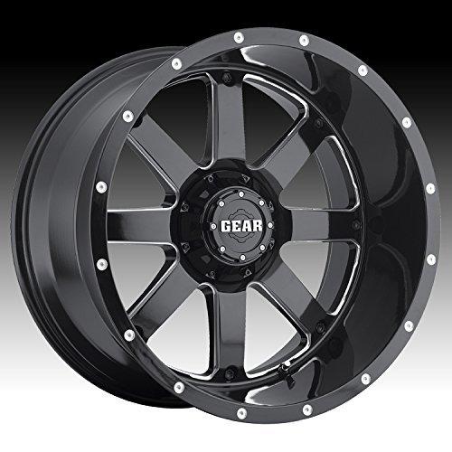 Gear Alloy 726MB BIG BLOCK Wheel with Milled Finish (20x10/6x5.5, 19mm Offset) - Big Ten Gear