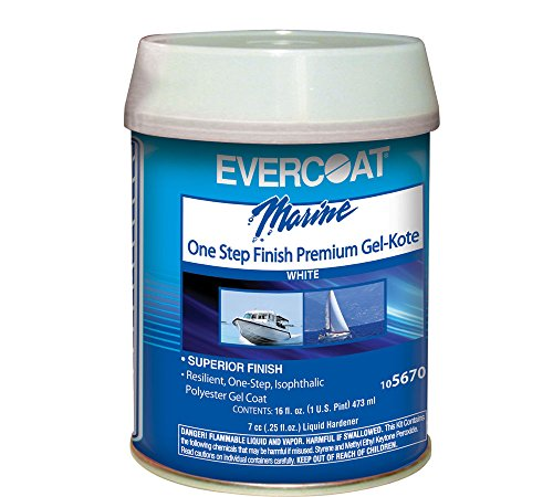Evercoat One Step Finish Gel Kote, Pt 105670 (Paste Polyester Gel)