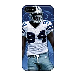 Scratch Protection Cell-phone Hard Covers For Iphone 5/5s (PUj796MBBy) Provide Private Custom Colorful Dallas Cowboys Pictures