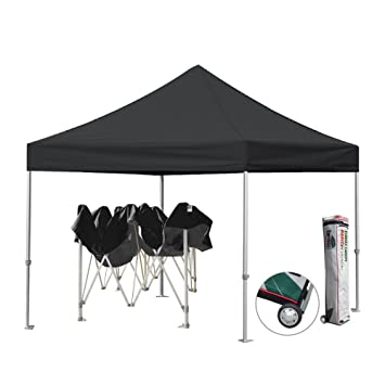 Eurmax Pop Up Canopy Tent Fair Shelter Straight Leg Instant Portable Canopy Gazebor - 10 x  sc 1 st  Amazon.com & Amazon.com: Eurmax Pop Up Canopy Tent Fair Shelter Straight Leg ...