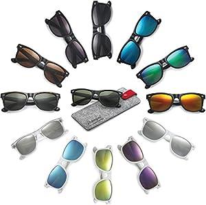 Polarspex Polarized Unisex 80's Retro Classic Trendy Stylish Sunglasses