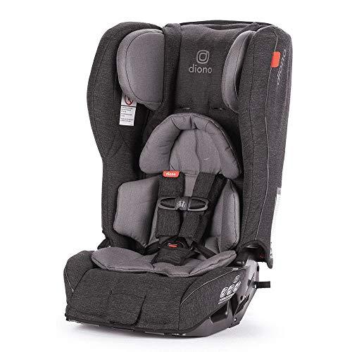 Diono Rainier 2AXT All-in-One Convertible Car Seat, Grey Dark