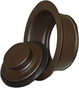 Mr. Scrappy 21-DSFS3-ORB 3-Bolt Garbage Disposal Drain Stopper Sink Flange, Oil Rubbed Bronze