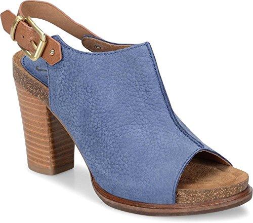 Sofft - Womens - Cidra,Denim Cognac,9 B(M) US (Shoes Blue Sofft)
