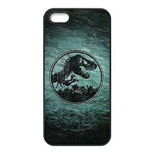 Distinctive Jurassic Park Customized Rubber DIY Case for iPhone 5 5S by icecream design