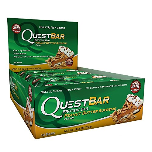 Quest Nutrition Protein Bar, Oatmeal Chocolate Chip, 12 bars - 2.1 oz each