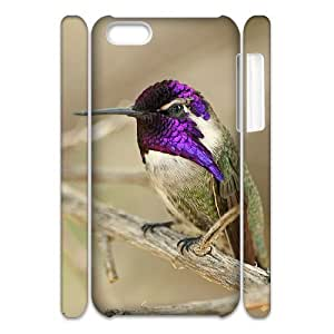 TYHH - Cell phone 3D Bumper Plastic Case Of Hummingbird For iPhone 5/5s ending phone case