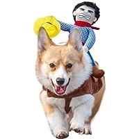 transfiguraci/ón de estilo vaquero para decoraci/ón de Halloween 1 disfraz de Halloween para mascotas disfraz de perro de vaquero para Halloween trajes de perro ropa de perro XL