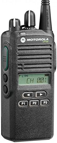 CP185 UHF AAH03RDF8AA7AN Original Motorola 435-480 MHz Handheld Two-way Radio Transceiver 4 Watt