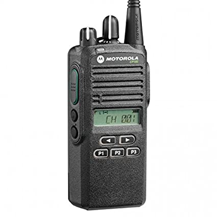 CP185 UHF AAH03RDF8AA7AN Original Motorola 435-480 MHz Handheld Two-way  Radio Transceiver 4 Watts, 16 Channels Black - 2 Year Manufacturer Warranty