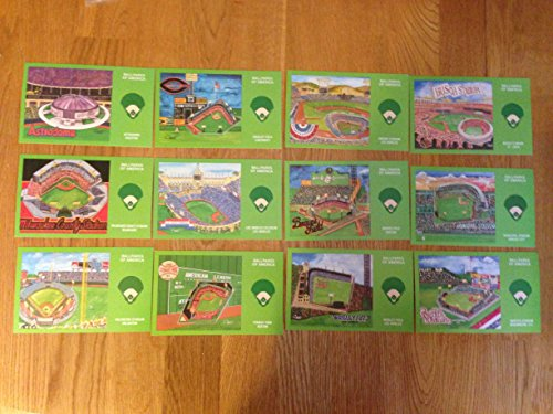 - BALLPARK SERIES LIMITED ISSUE SERIES NO. 2 COMPLETE POSTCARD SET OF 12