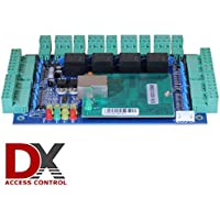 4 Door Access Control Panel Board - Software CD is included - can easily connect to a PC or Network with Ethernet Cable via TCP/IP port - Connect and control Access Readers, electronic door locks, exit buttons, alarms and more