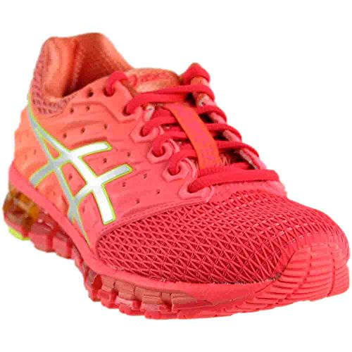 ASICS Women's Gel-Quantum 180 2 Running Shoe, Diva Pink/Silver/Coral Pink, 8.5 M US