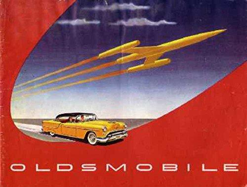 1954 Oldsmobile Sales Brochure Literature Book Piece Advertisement Specs Options