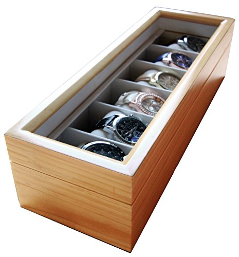wooden watch display - 8