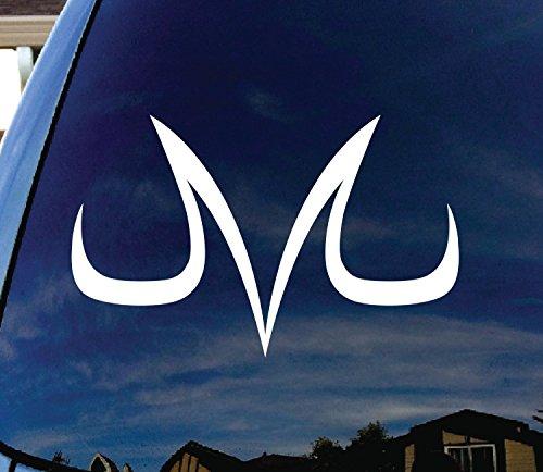 CMI256 Vegeta Dragonball Window Sticker product image