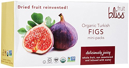 Fruit Bliss Organic Turkish Mini Figs – Fig – 1.76 oz – 12 pk