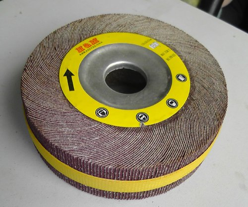 "Premium FLAP WHEEL 6"" x 1"" with 1"" bore Unmounted 180 grit"