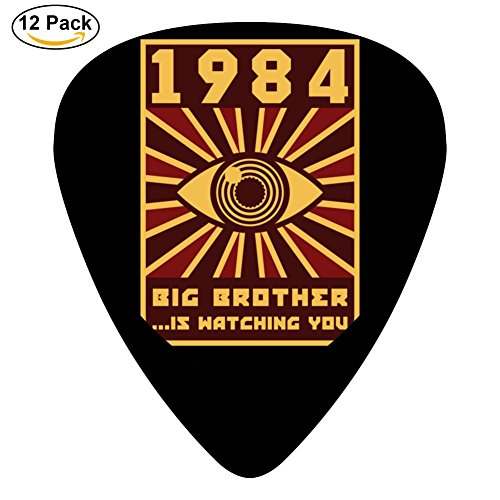 Mandolin Brothers (Big Brother 351 Shape Medium Classic Celluloid Picks, 12-Pack, For Electric Guitar, Acoustic Guitar, Mandolin, And Bass)