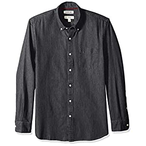 Amazon Brand – Goodthreads Men's Standard-Fit Long-Sleeve Denim Shirt