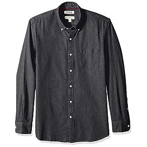 Goodthreads Men's Standard-Fit Long-Sleeve Denim Shirt