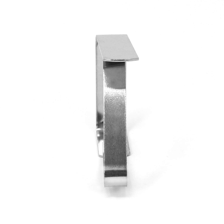com-four/® Clip per tovaglie 8X in Acciaio Inossidabile Peso della tovaglia Supporto per tovaglie