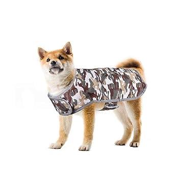 Ropa para perros de mascotas, abrigos y chaquetas impermeables de invierno para perros pequeños y medianos ...