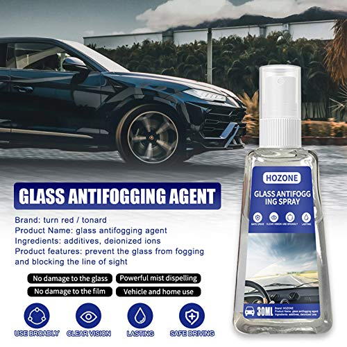 WYILIY 30ML/60ML Anti Fog Spray Eyeglass Lens Cleaner, Fine Coating, Long Lasting Defogger for Glasses, Automobile Glasses and Windows |Long Lasting Solution