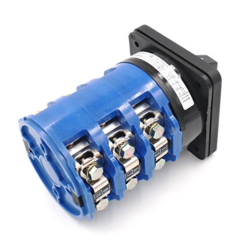 Baomain Universal Cam Changeover Rotary Switch LW28-125/3 660V 125A 3 Position by Baomain (Image #1)