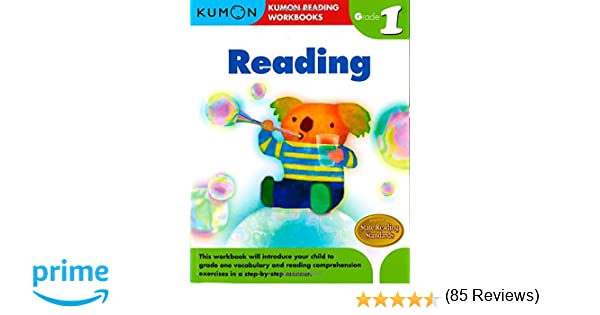 Amazon.com: Grade 1 Reading (Kumon Reading Workbooks ...