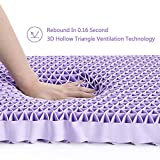 DAPU Purple Pillow Oversized Great Support for Hot