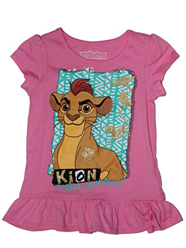 Disney The Lion King : Lion Guard Girls Kion Ruffle Tee 2T-5T
