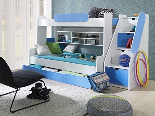 Unbekannt Etagenbett Smile in blau