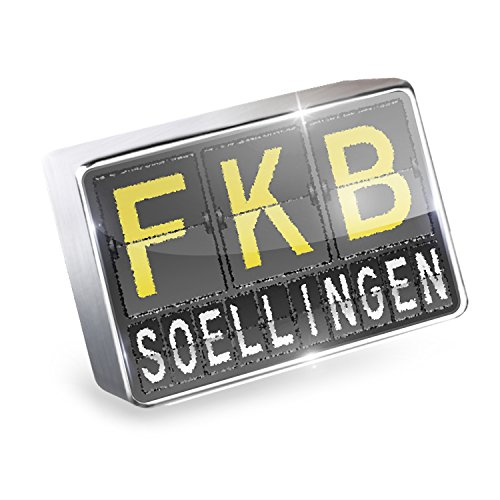 Floating Charm Fkb Airport Code For Soellingen Fits Glass Lockets  Neonblond