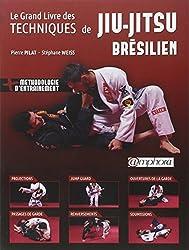 Le grand livre des techniques de Jiu-Jitsu brésilien