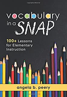 Amazon com: Vocabulary in a SNAP: 100+ Lessons for Secondary