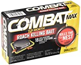 Combat Max 12 Month Roach Killing Bait, Small Roach Bait Station, Child-Resistant, 18...