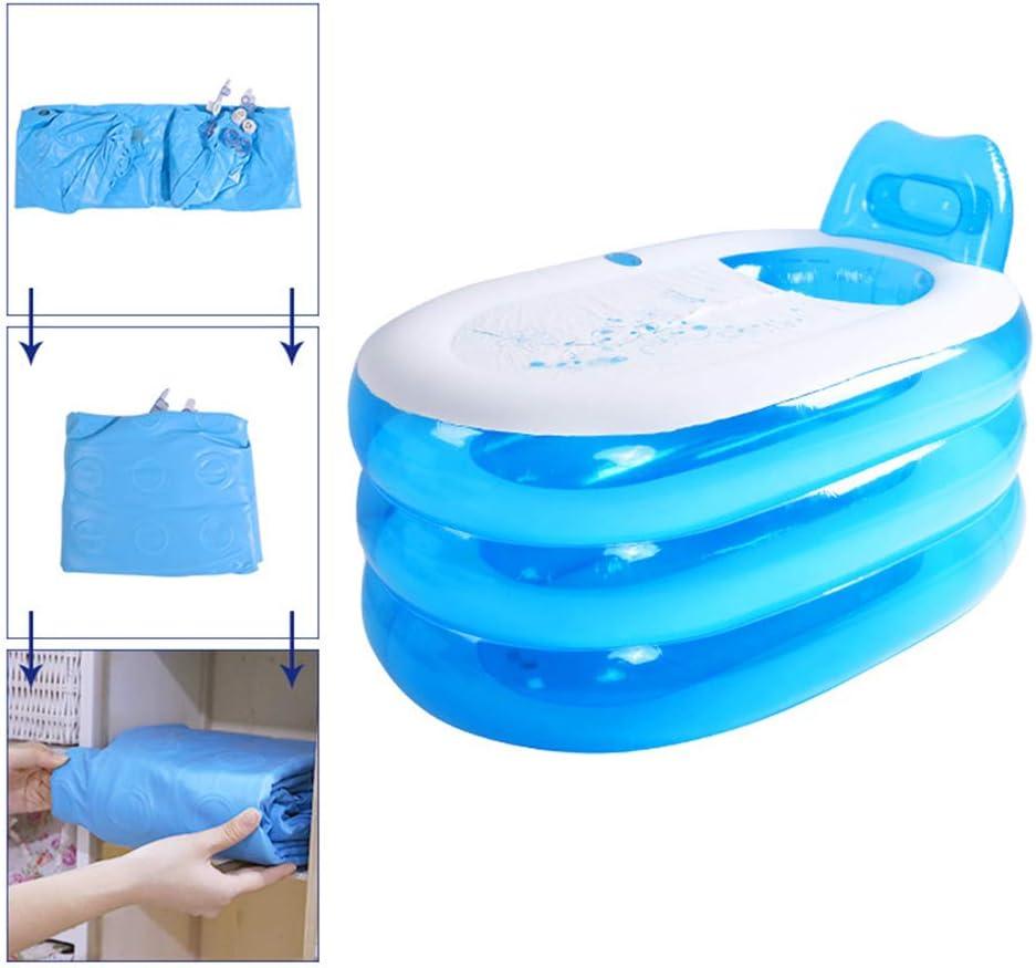 XL ECOiNVA Inflatable Swimming Pools Bathtub Portable Folding Blowup Bathroom Inflatable Shower Pools