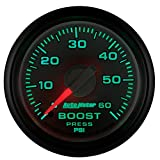"""Auto Meter 8505 Factory Match 2-1/16"""" 0-60 PSI Mechanical Boost Gauge for Dodge"""