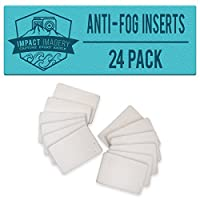 Impact Imagery - Anti Fog Inserts - 24 Pack of Reusable Moisture Absorbing Strips - Humidity Removing Defogger for Underwater Housings - Gopro Hero - SJ4000 SJ5000 - Sony Action Cam