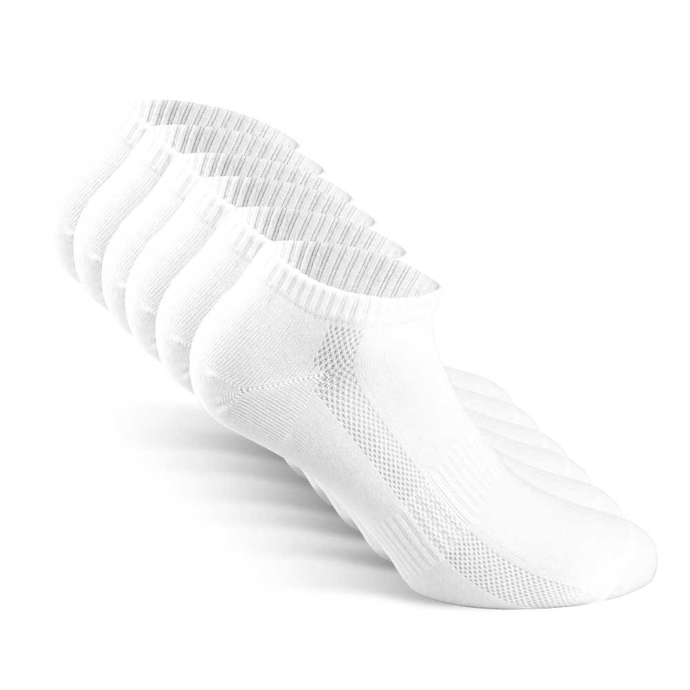 Snocks Womens Socks Ankle Low Cut White Women Cotton Women's Athletic 8 9 10