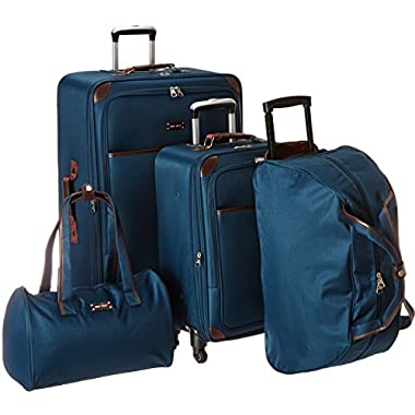 Ninewest Round Trip 5 Piece Luggage Set, Teal, One Size