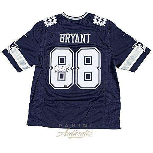Dez Bryant Autographed Blue Nike Limited Dallas Cowboys Jersey ~Open Edition Item~ - Cowboys Autographed Items
