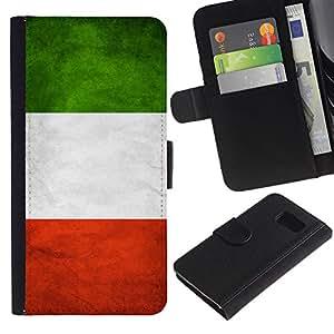 All Phone Most Case / Oferta Especial Cáscara Funda de cuero Monedero Cubierta de proteccion Caso / Wallet Case for Sony Xperia Z3 Compact // National Flag Nation Country Italy