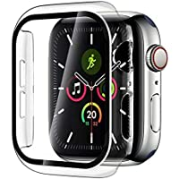 Case + Tempered Glass Screen Protector For Apple Watch Series 6 (40mm) / Apple Watch SE [2020] (40mm) / Series 5 (40mm…