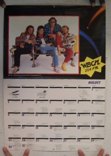 Van Halen The Rolling Stones Calendar 2 Sided ()